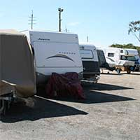 Caravan Storage at Oasis Storage Yatala