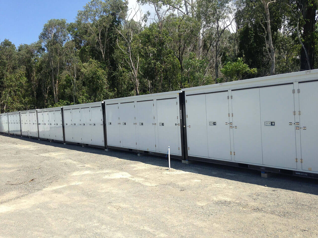 Cheap storage container facility on the Gold Coast