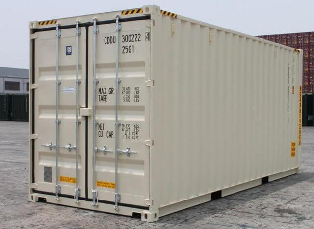 Double door 20ft container for storage Oasis storage gold coast