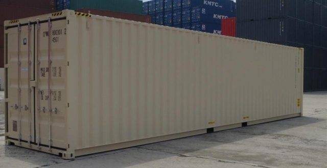 A huge storage container 40ft long