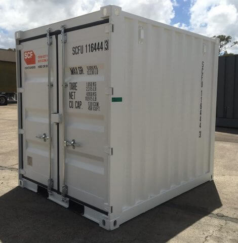 9ft container storage very popular at Oasis Storage