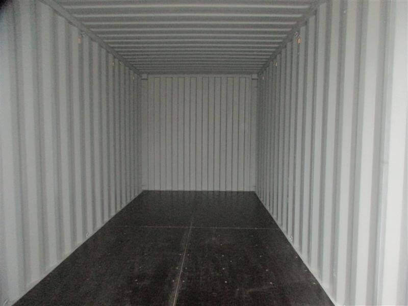Inside a gold coast 20ft shipping container