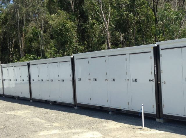 standard three quarter storage container on the Gold Coast