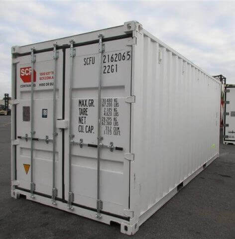 Portable 20 foot storage container for the Gold Coast
