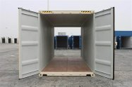 end view of a shipping container gold coast
