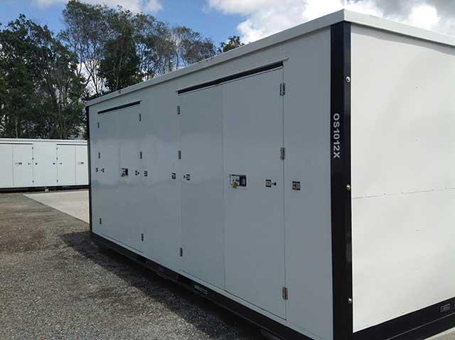 Coomera Self Storage units