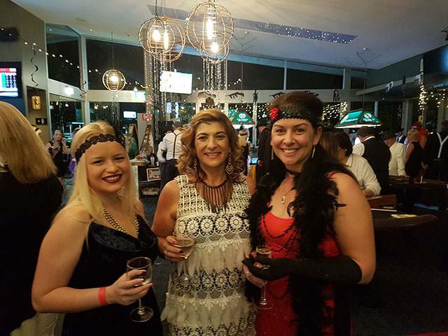 Oasis Storage Ormeau supporting gatsby night norfolk tavern Sept 2017