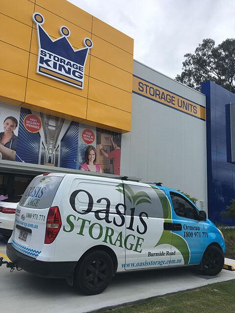 Oasis Storage open day at Storage King Southport thanks to Self Storage Assocciation Australia