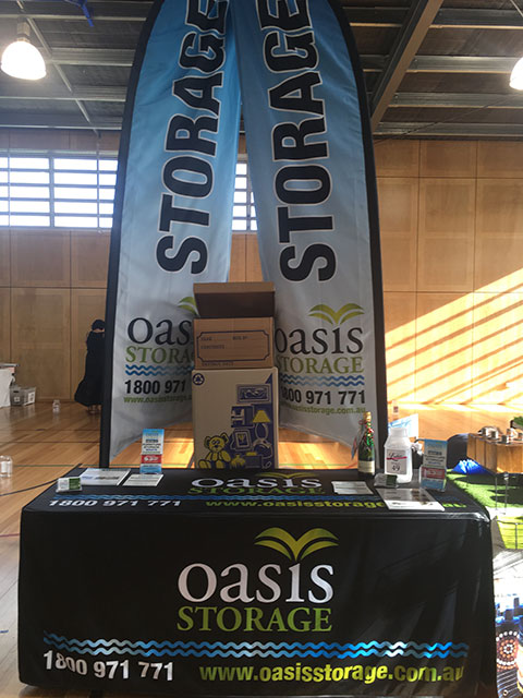 Oasis Storage ormeau at Norfolk village state school ladies market night 2017