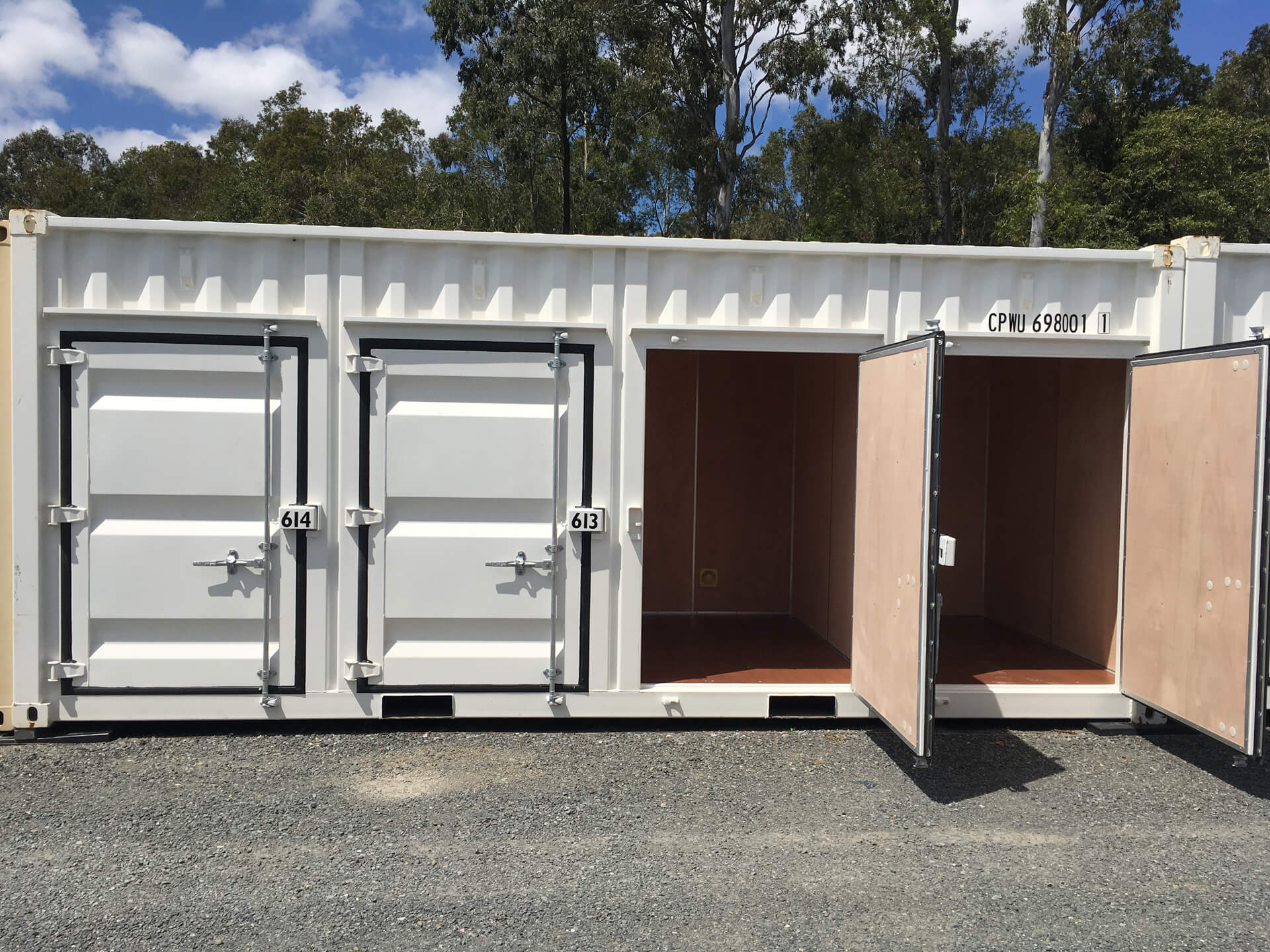 container storage spaces secure oasis storage Pacific Pines