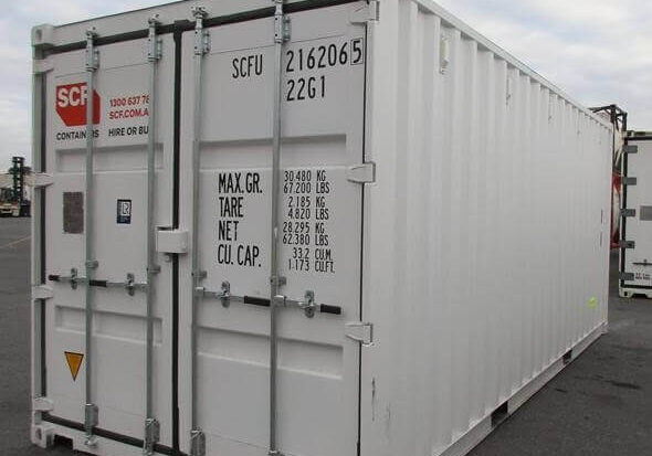 20ft storage on the gold coast in a shipping container